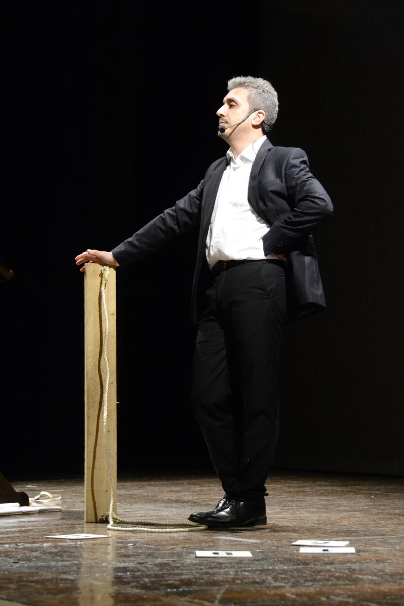 Francesco Grassi al convegno del CICAP