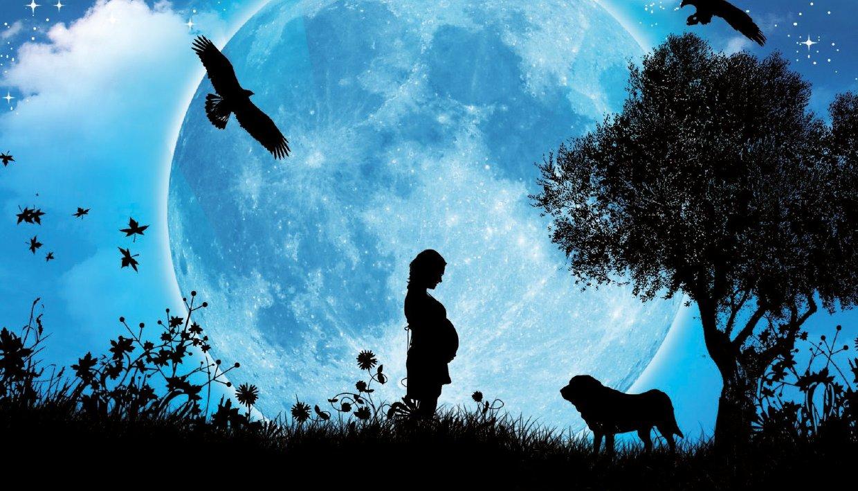 Calendario Lunare Nascite.La Luna E Le Nascite