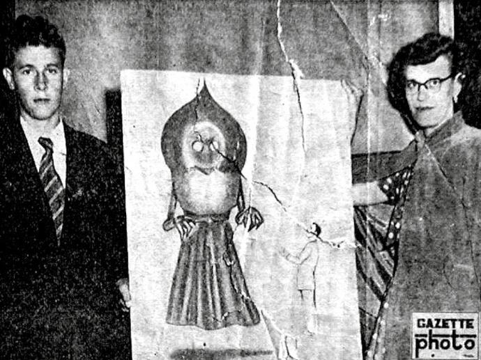 Risultati immagini per Il mostro di Flatwoods